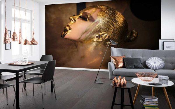 پوستر دیواری تصویر چهره زن کد z-10456