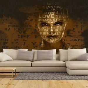 پوستر دیواری تصویر چهره زن کد z-10458