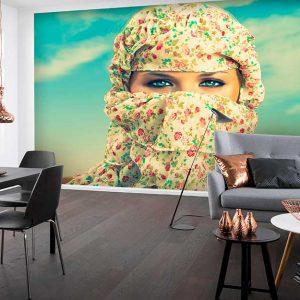 پوستر دیواری تصویر چهره زن کد z-10485