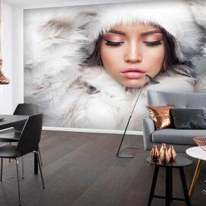 پوستر دیواری تصویر چهره زن کد z-10499