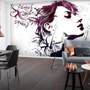 پوستر دیواری تصویر چهره زن کد z-10500