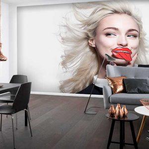 پوستر دیواری تصویر چهره زن کد z-10625