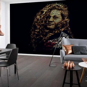 پوستر دیواری تصویر چهره زن کد z-10708