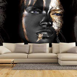 پوستر دیواری تصویر چهره زن کد z-10709