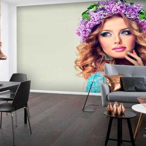 پوستر دیواری تصویر چهره زن کد z10911 - posteronline.co
