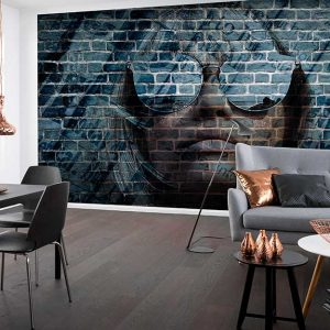 پوستر دیواری تصویر چهره زن کد z-10993