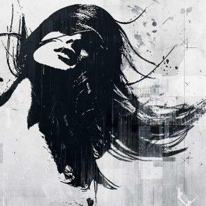 پوستر دیواری تصویر چهره زن کد z-10668