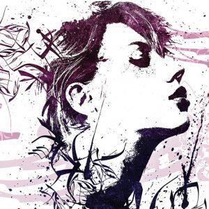 پوستر دیواری تصویر چهره زن کد z-10700
