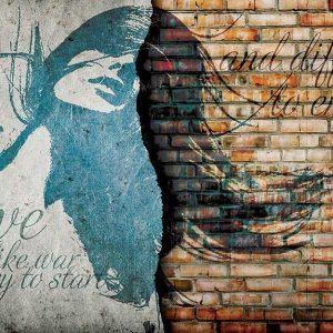 پوستر دیواری تصویر چهره زن کد z-10705