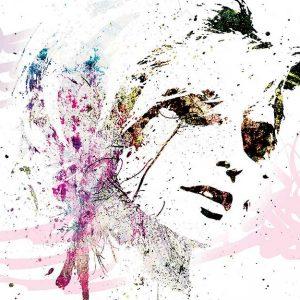 پوستر دیواری تصویر چهره زن کد z-10707