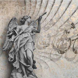 پوستر دیواری لاکچری پتینه کد A-3027