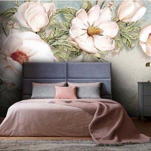 پوستر دیواری گل سه بعدی کد G-3600