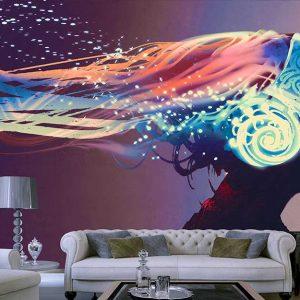 پوستر دیواری موزیک و دنس رقص d-5384