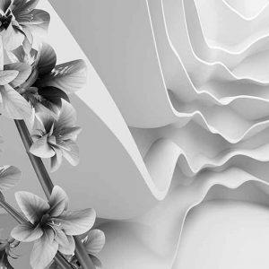پوستر دیواری گل سه بعدی کد G-3735