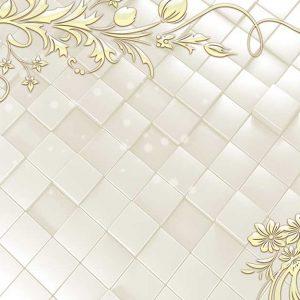 پوستر دیواری گل سه بعدی کد G-3644