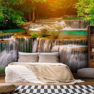 پوستر دیواری منظره آبشار کد n-7704