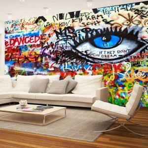 پوستر دیواری گرافیتی کد g-12207