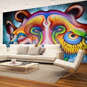 پوستر دیواری گرافیتی کد g-12214