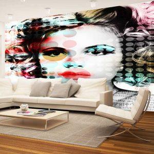 پوستر دیواری گرافیتی کد g-12220