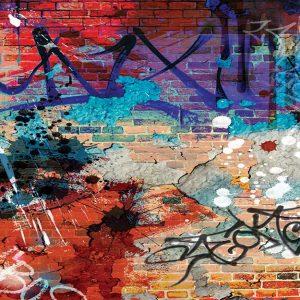 پوستر دیواری گرافیتی کد g-12201