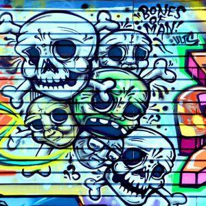 پوستر دیواری گرافیتی کد g-12216