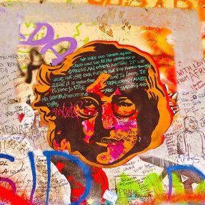 پوستر دیواری گرافیتی کد g-12219