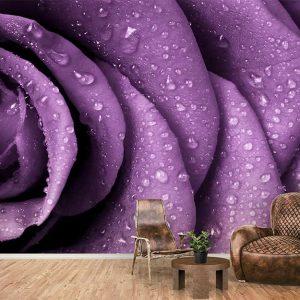 پوستر دیواری گل های بهاری کد F-8155
