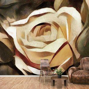پوستر دیواری گل های بهاری کد F-8162
