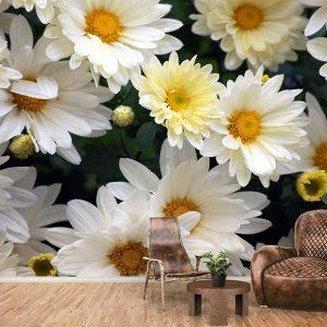 پوستر دیواری گل های بهاری کد F-8166