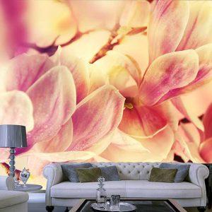 پوستر دیواری گل های بهاری کد F-8169