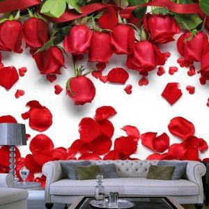 پوستر دیواری گل های بهاری کد F-8320