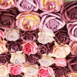 پوستر دیواری گل های بهاری کد F-8156