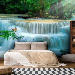پوستر دیواری منظره آبشار کد n-7723