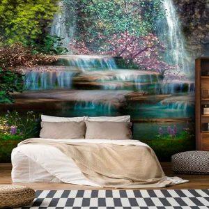 پوستر دیواری منظره آبشار کد n-7729