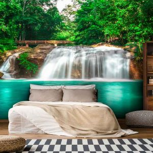 پوستر دیواری منظره آبشار کد n-7731