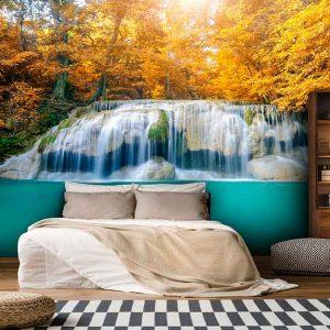 پوستر دیواری منظره آبشار کد n-7733