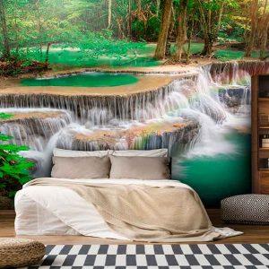 پوستر دیواری منظره آبشار کد n-7735