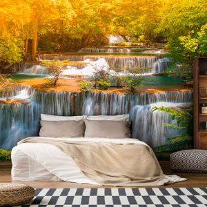 پوستر دیواری منظره آبشار کد n-7738