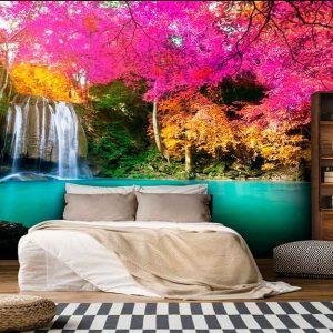 پوستر دیواری منظره آبشار کد n-7750