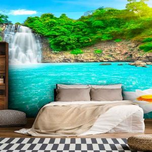 پوستر دیواری منظره آبشار کد n-7760