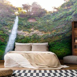 پوستر دیواری منظره آبشار کد n-7764