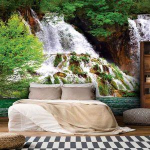 پوستر دیواری منظره آبشار کد n-7768