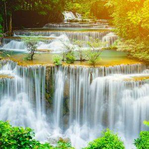 پوستر دیواری منظره آبشار کد n-7728