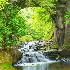 پوستر دیواری منظره آبشار کد n-7746