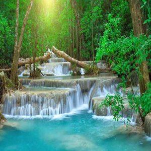 پوستر دیواری منظره آبشار کد n-7765