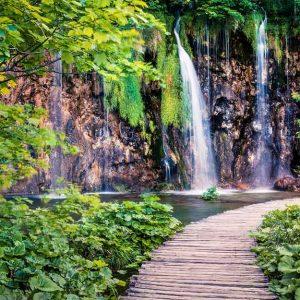 پوستر دیواری منظره آبشار کد n-7766