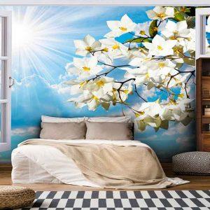 پوستر دیواری منظره بهار کد n-5851