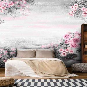 پوستر دیواری منظره بهار کد n-5858