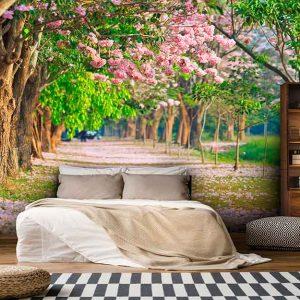 پوستر دیواری منظره بهار کد n-5882