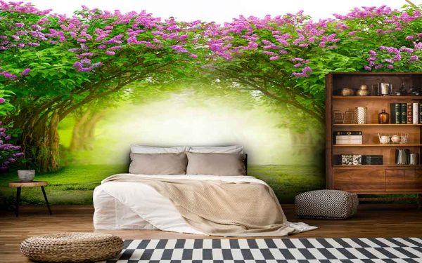 پوستر دیواری منظره بهار کد n-5902